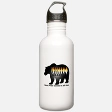 Bear Pride comes in all sizes Water Bottle