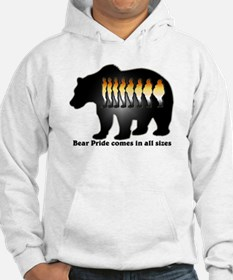 Bear Pride comes in all sizes Hoodie