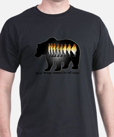 Bear Pride comes in all sizes T-Shirt