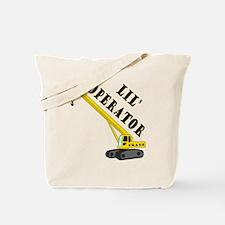 Lil' Crane Operator Tote Bag