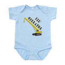 Lil' Crane Operator Infant Bodysuit