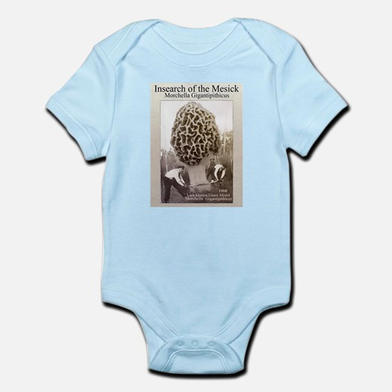 mesick giant morel Infant Bodysuit