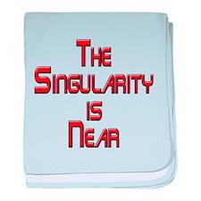 The Singularity is Near baby blanket