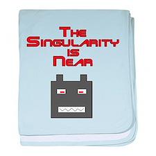 The Singularity is Near 2 baby blanket