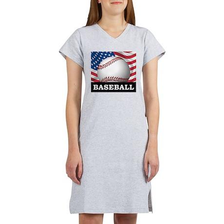 American Baseball Women's Nightshirt