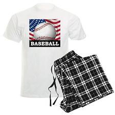 American Baseball Pajamas
