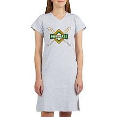 Baseball Women's Nightshirt
