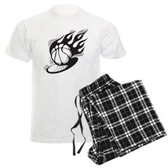 Flaming Basketball Pajamas