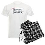 Bowling Fanatic Men's Light Pajamas