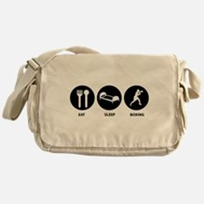 Eat Sleep Boxing Messenger Bag