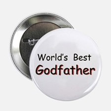 World's Best Godfather Button
