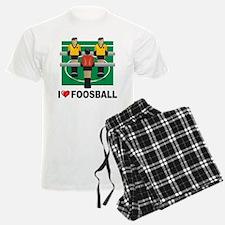 I Love Foosball Pajamas