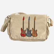 Guitars Messenger Bag