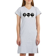 Eat Sleep Skydive Women's Nightshirt