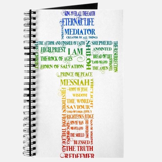 Names of Jesus Cross Journal