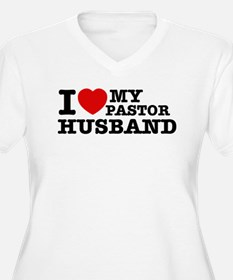 I love my Pastor Husband T-Shirt