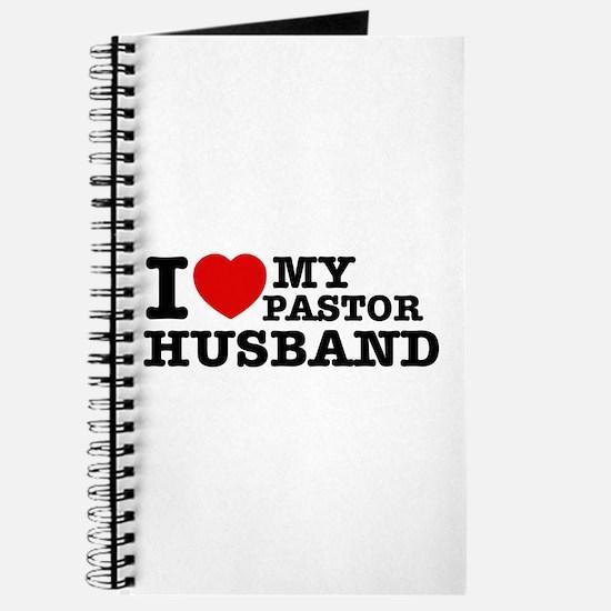 I love my Pastor Husband Journal