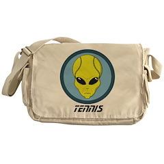 Alien Tennis Messenger Bag
