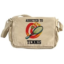 Addicted To Tennis Messenger Bag