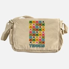 Pop Art Tennis Messenger Bag