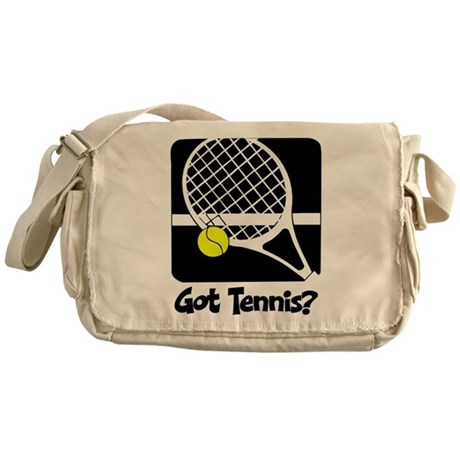 Got Tennis? Messenger Bag
