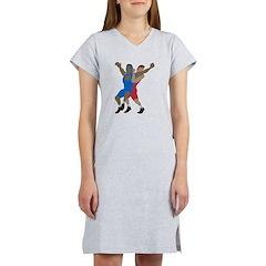 Wrestler Women's Nightshirt