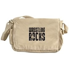 Wrestling Rocks! Messenger Bag