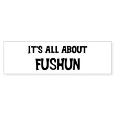All about Fushun Bumper Bumper Sticker