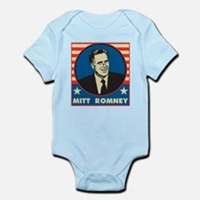 Retro Mitt Romney Infant Bodysuit