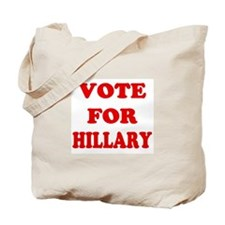 Vote for Hillary Tote Bag