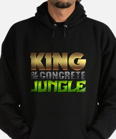King Of The Concrete Jungle Hoodie (dark)