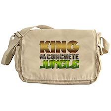King Of The Concrete Jungle Messenger Bag