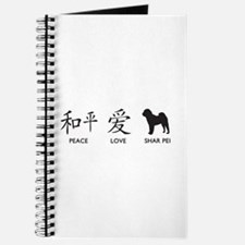 Chinese-Peace, Love, Shar Pei Journal