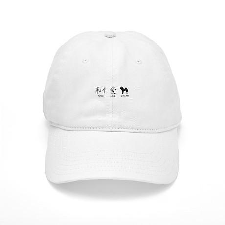 Chinese-Peace, Love, Shar Pei Cap