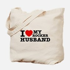 I love my Rocker Husband Tote Bag