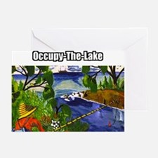 Occupy The Lake Greeting Cards (Pk of 10)