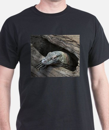 Komodo Dragon Black T-Shirt