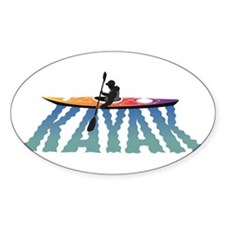 Kayak Ripple Decal