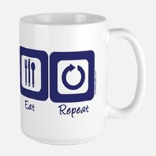 Sleep- Lift- Eat- Repeat Mug