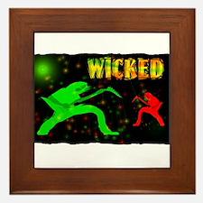 wicked guitarist Framed Tile