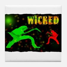 wicked guitarist Tile Coaster
