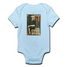 The Fight Has Just Begun Infant Bodysuit