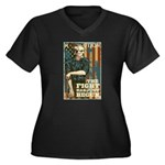 The Fight Has Just Begun Women's Plus Size V-Neck