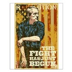 The Fight Has Just Begun Small Poster