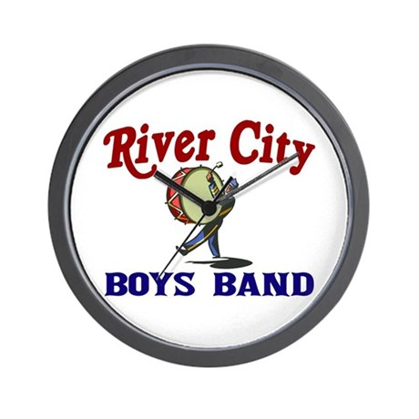 River City Boys Band Wall Clock