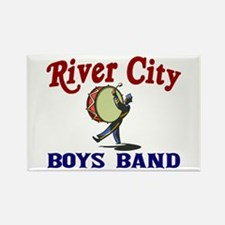 River City Boys Band Rectangle Magnet