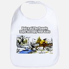 Occupy Your Kids Bib