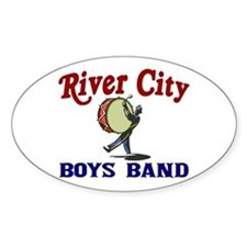 River City Boys Band Oval Decal