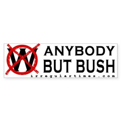 Anybody But Bush Bumper Bumper Sticker