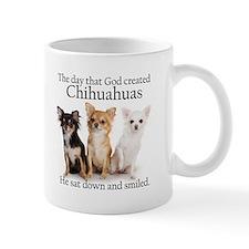 God & Chihuahuas Small Mug